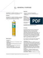 Silicone Sealant Datasheet