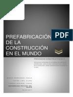 Prefabricacion de La Construcción en El Mundo