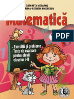 Culegere de Matematica Clasele 1 2