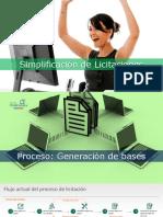 Simplificación de Licitación Pública L1 (FEMER 2017)