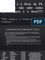 4 Ação a Favor Do PL 3722