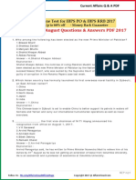 Current Affairs August Question & Answer 2017 PDF by AffairsCloud
