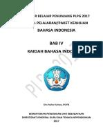 BAB IV Kaidah Bahasa Indonesia