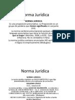 Norma Jurídica, Ordenamiento, Hecho Jurídico