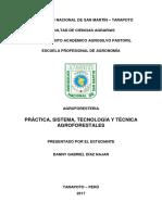 Practica Sistema Agroforestales