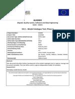D3.5 Model Catalogue v1.0