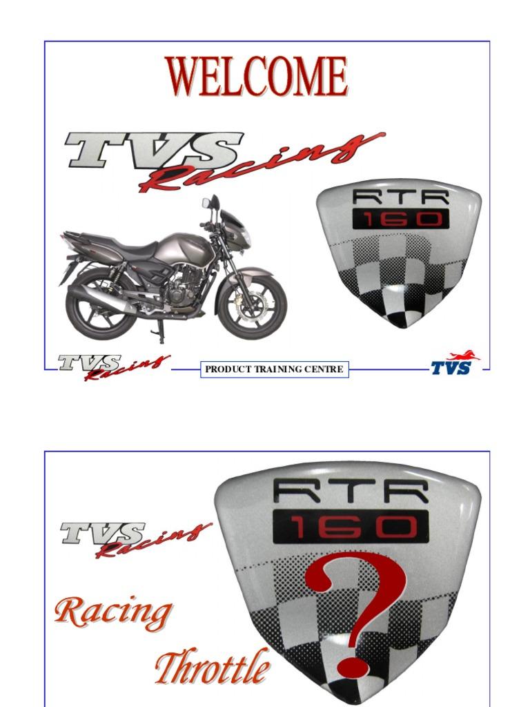 RTR 160 Service Manual | Transmission (Mechanics) | Piston