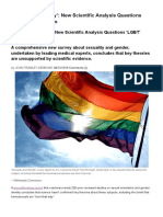 Not 'Born That Way'_ New Scientific Analysis Questions 'LGBT' Orthodoxies _ Daily News _ NCRegister