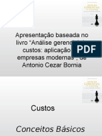 Analise Gerencial de Custos Bornia