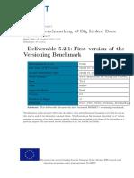 D5.2.1 First Version Versioning Benchmark