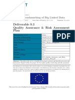 D9.3 Quality Assurance and Risk
