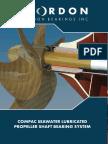 COMPAC Seawater Lubricated Prop Shaft Brochure