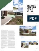 Sanctuary magazine issue 12 - Spartan Style - Neerim East, Vic green home profile