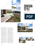 Sanctuary magazine issue 12 - Spartan Style - Neerim East, Vic green home profile