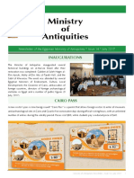 Newsletter of the Egyptian Ministry of Antiquities * Issue 14 * July 2017