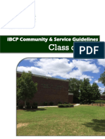 community  service ibcp guidelines class of 2019