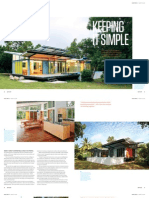Sanctuary magazine issue 12 - Keeping It Simple - Magnetic Island, QLD green home profile