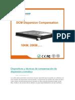 Dispositivos y Técnicas de Compensación de Dispersión Cromática