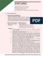 Ch 16 - Staff Loans - Provisions bgvb