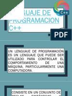 1-LENGUAJE DE PROGRAMACION C++