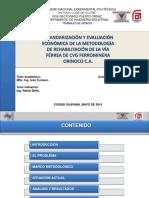 Estandarizacion y Evaluacion Economica Metodologia Rehabilitacion via Ferrea