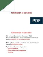 Lectut MTN 513 PDF Fabrication of Ceramics