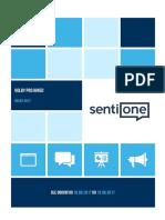 Politické strany na sociálních sítích - analýza SentiOne