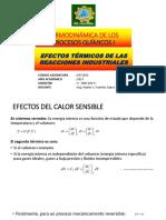 Efectos Termicos en Los Procesos Industriales
