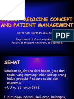 Family Medicine Concept and Patient Management
