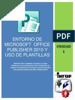 Unidad 1-Entorno de Publisher y Plantillas