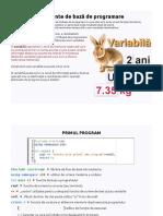 Programare Pentru Toti
