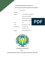 Laporan Pencelupan Poliester Cara Exhaust Metoda Hthp
