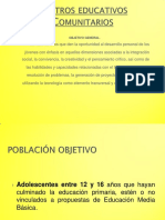 Centros Educativos Comunitarios Materiales de Estudio 2016 04