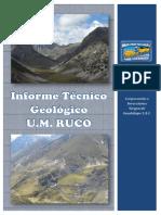 Informe Técnico Geológico Mina Ruco (Diciembre 2013)