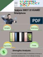 Analysis SWOT of HUAWEI Smartphone