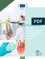 Guia Europea Para El Uso de Antibiotico