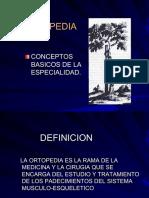 2. Bases Del Estudio de La Ortopedia