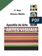 Capa de Apostila de Artes