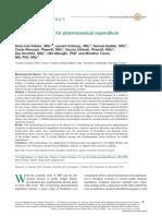 Novel Methodology for Pharmaceutical Expenditure Forecast