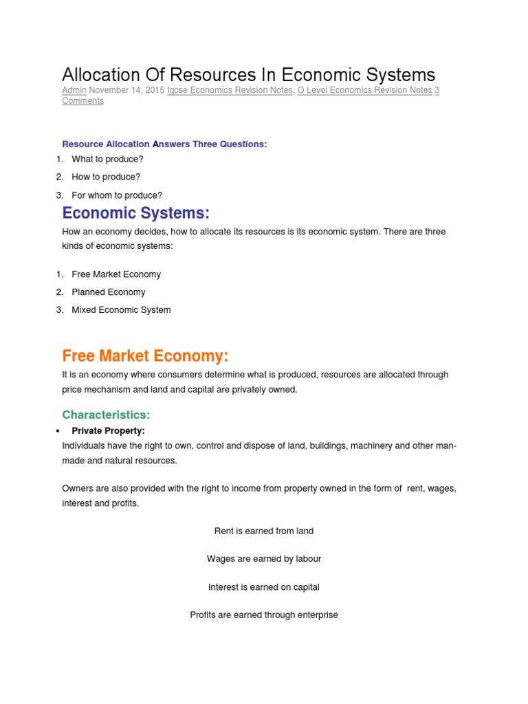 Comparing Economic Systems Lesson Plan for 10th - 12th Grade ...