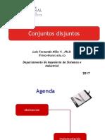 Conjuntos Disyuntos - 2017-I (1)