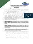 Acuerdo Formal de Constitución Del Comité de Seguridad Campaña 2017