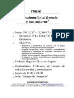 INVITACIÓN CURSO Francés Definitivo