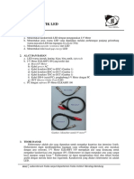 Modul 04 - Karakteristik LED