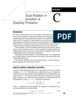 Appendix C Tensor Indicial Notation in the Approximation of Elasticity Problems 2013 the Finite Element Method Its Basis and Fundamentals Seventh Edit