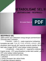 presentasi kuliah III-Metabolisme Sel II (Respirasi).ppt