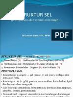 presentasi kuliah I-Struktur Sel-Protoplasma&Biomembran.ppt