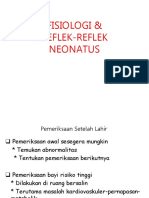 2. Fisiologi & Refleks Neonatus(1)