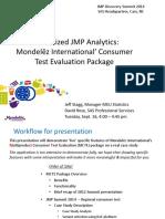 JMP Discovery Summit 2014 - Mondelez JMP CTE Tool - Final