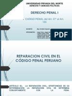 Reparacion Civil en El Código Penal Peruano